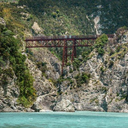 Springfield, New Zealand: the railroad bridge