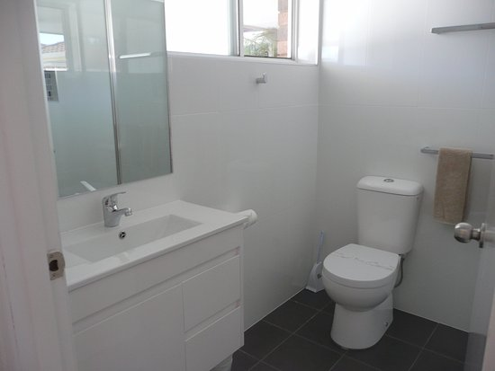 Woolgoolga, Australia: New bathrooms