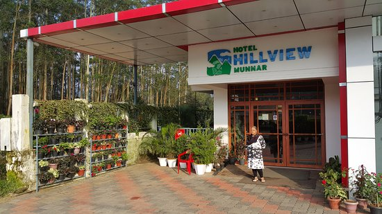 Hillview Munnar: Front of the hotel