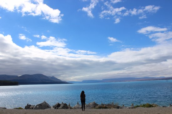 Lake Pukaki: That me!