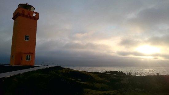 Hellissandur, Ισλανδία: Le phare de Svortuloft