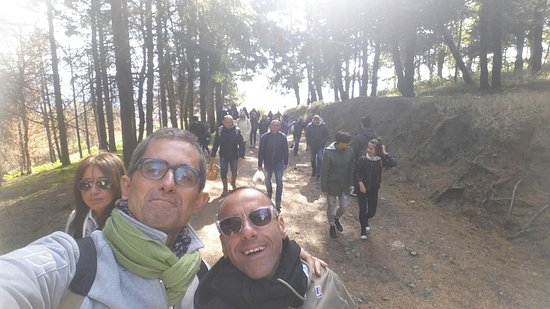 Monticchio Bagni, Italy: Raccolta castagne