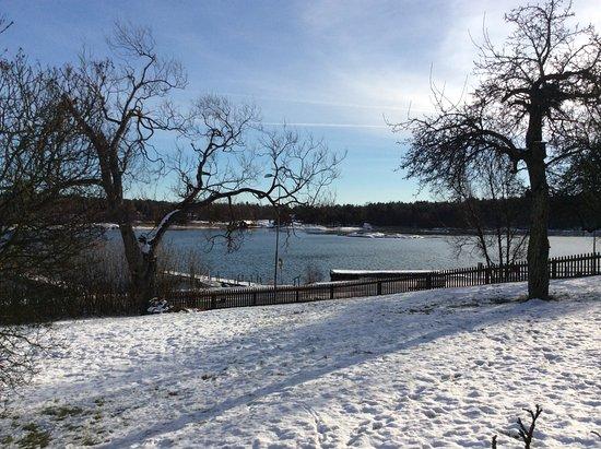 Oxelosund, สวีเดน: Vinterbild
