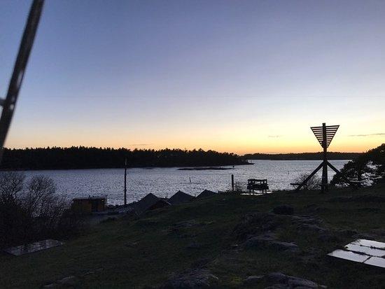 Oxelosund, Sweden: Solnedgång
