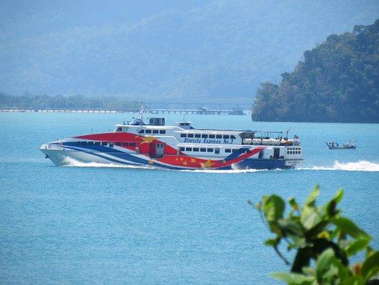 Langkawi Ferry: Скоростной катер на соседний остров.