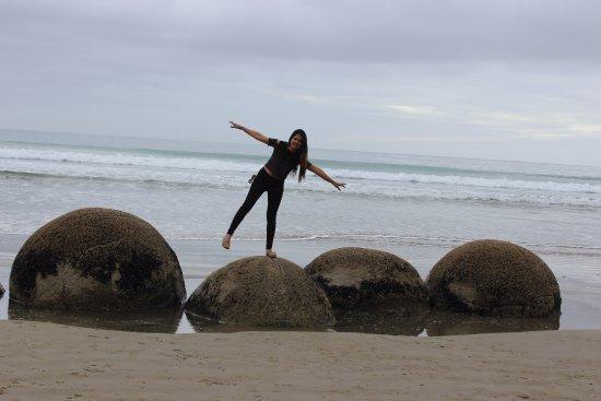 Oamaru, New Zealand: Posing!