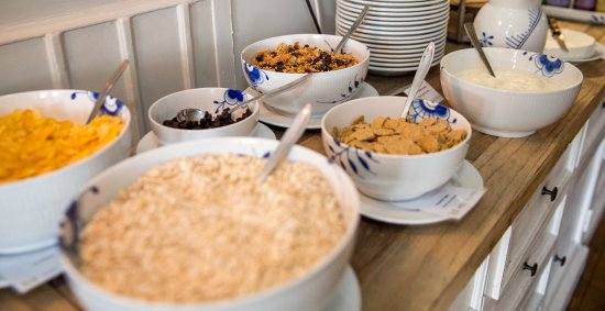 Sakskoebing, Danmark: Morgenmadsbuffet