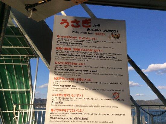Kyukamura Okunishima Kyakusen, Ferry