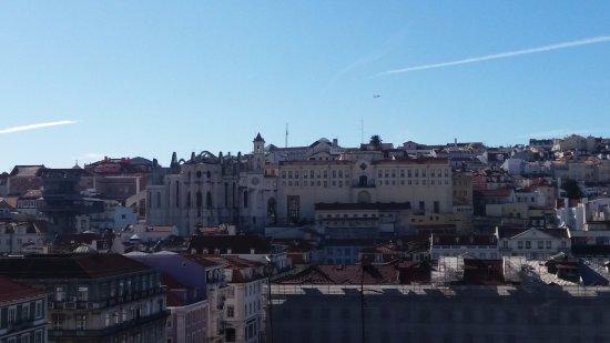 Lisboa Tejo: Vistas desde la habitación 605