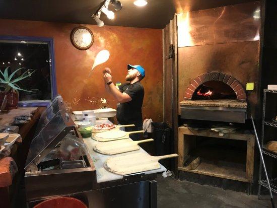 Black Mountain, NC: Fresh pizza dough