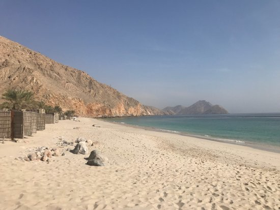 Six Senses Zighy Bay : Beautiful beach and delicious breakfast