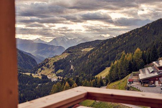 Oetz, النمسا: Aussicht Zimmer Edelweiß