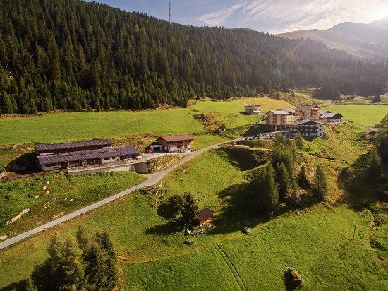 Oetz, النمسا: Ansicht Hotel