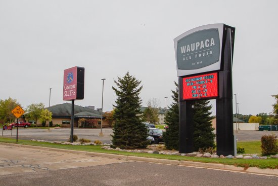 Waupaca, WI: Main Entrance
