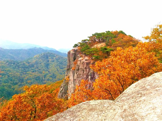 Gwangju, South Korea: Peak Saeinbong