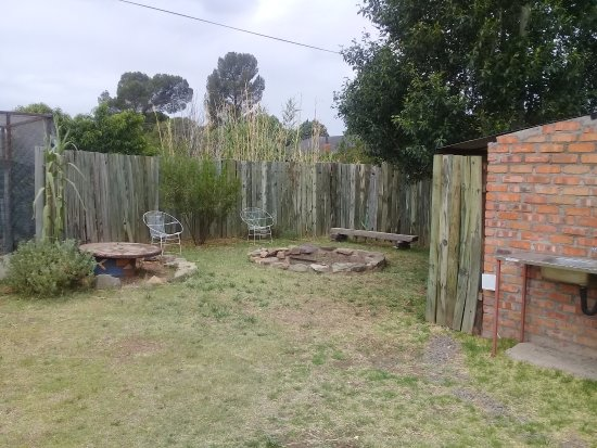 Smithfield, South Africa: Braai Area
