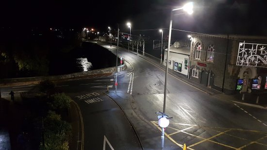 Builth Wells, UK: View from room #26 at front of hotel.