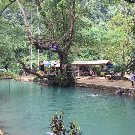 Tham Phu Kham Cave and Blue Lagoon: photo0.jpg
