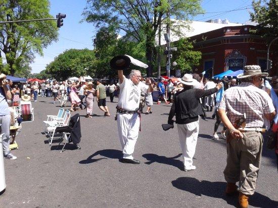 Feria de Mataderos- Bailarines- Bs.As. 2017.