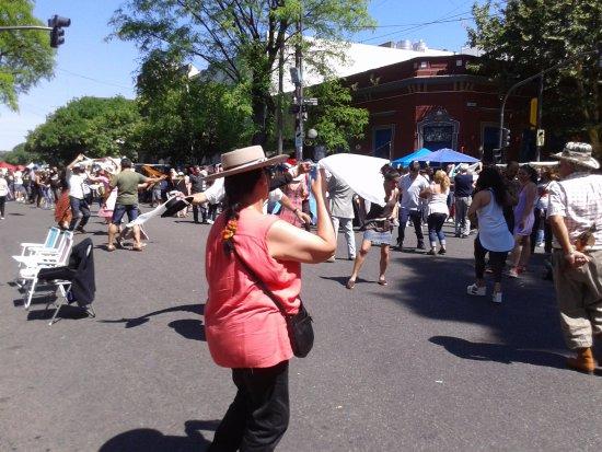 Feria de Mataderos- Gente Bailando- Bs.As. 2017.