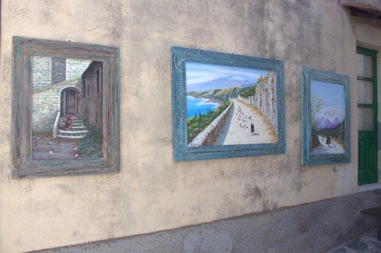 Castelmola, Italië: Улицы Кастельмолла