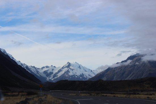 Mt. Cook Village, New Zealand: Mt Cook!
