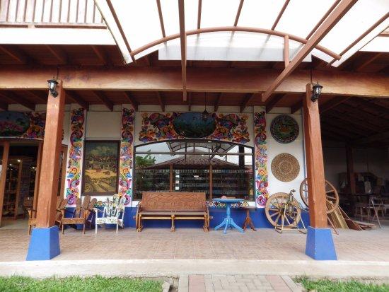 Sarchi, Costa Rica: The courtyard