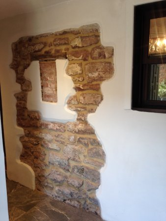 Alveley, UK: Exposed early wall feature