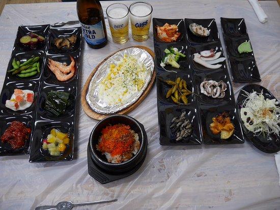 Pohang, Coréia do Sul: まずはおかずたち