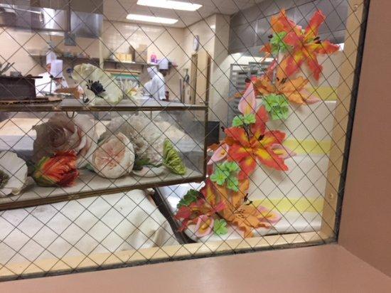 Hyde Park, Nova York: Edible flowers and chocolate geodes