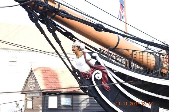 Hartlepool, UK: The figurehead