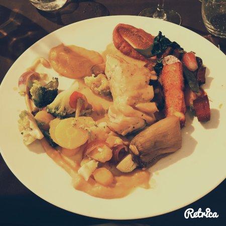 Restaurant c t st pierre dans coutances avec cuisine for Plat cuisine francaise