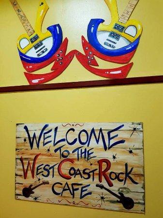 West Coast Rock Cafe Blackpool