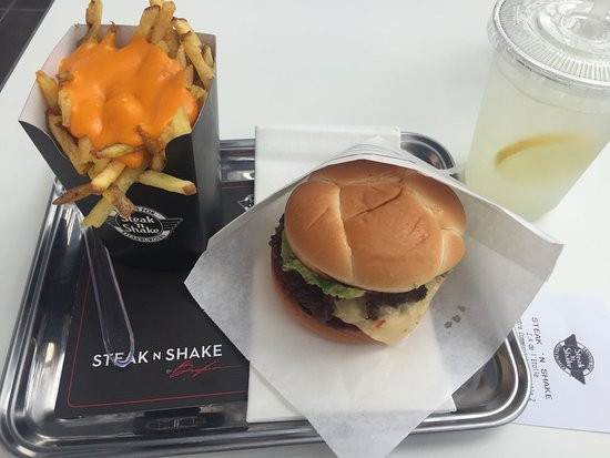 steak n shake photo de steak 39 n shake mondeville tripadvisor. Black Bedroom Furniture Sets. Home Design Ideas