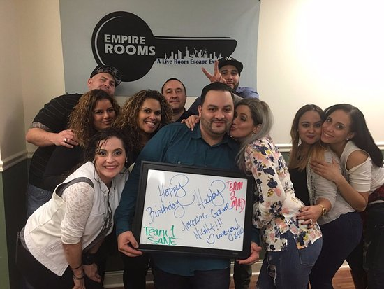 Fairfield, Nueva Jersey: Birthday parties are a blast here at Empire Rooms!