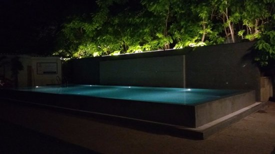 Green Park - Visakhapatnam: The infinity pool in the evening.