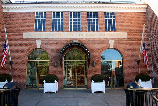 National Baseball Hall of Fame and Museum : Entry to the hall