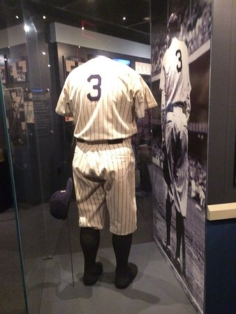 National Baseball Hall of Fame and Museum : Babe Ruth