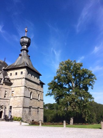 Le Château de Chimay : La tour du château