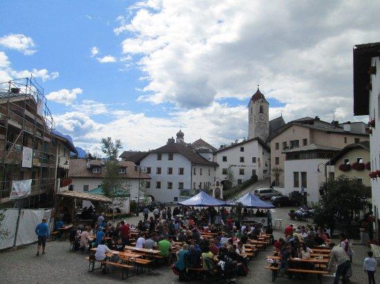 festa in piazza a laion