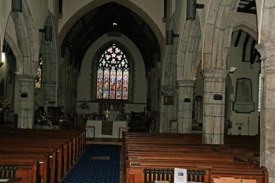 Chilham, UK: Kirchenraum