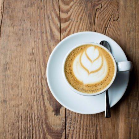 Koszalin, Poland: Latte arty