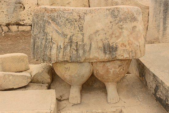 Tarxien, Malta: particolare