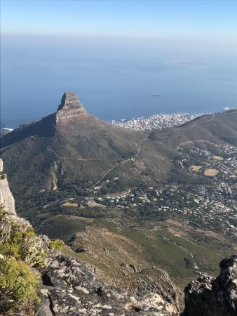 Table Mountain Aerial Cableway: vista da Table Mountain