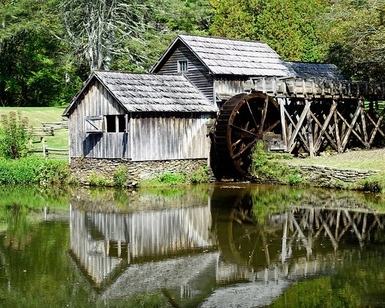 Meadows of Dan, VA: Mabry Mill Building.