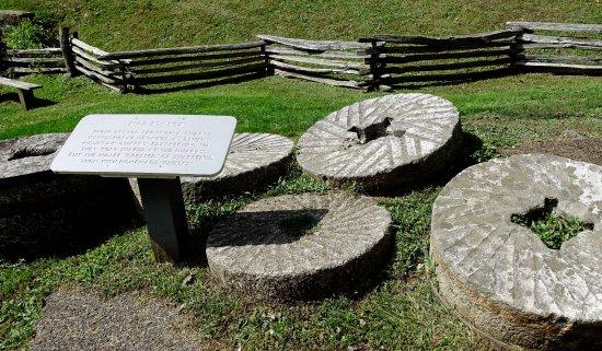 Meadows of Dan, VA: Old Mill Stones