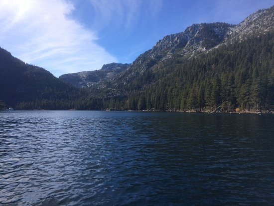 Zephyr Cove, NV: view of the lake