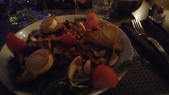 Cafe Del Mare : salade de chèvre chaud
