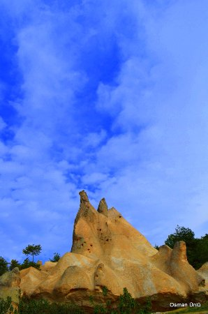 Frig Vadisi Tabiat Parki: Frig vadisinde peri bacaları