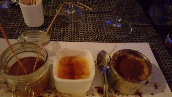 Cafe Del Mare : dessert ultra gourmand